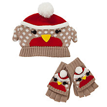 Buy John Lewis Christmas Robin Set Online at johnlewis.com