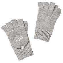 Buy John Lewis Snowflake Fliptop Gloves Online at johnlewis.com
