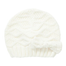 Buy John Lewis Girl Diamante Bow Beanie Hat Online at johnlewis.com