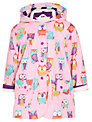 Hatley Girl's Owl Raincoat, Pink