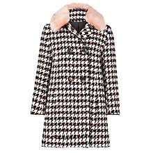Buy Somerset by Alice Temperley Girls' Swing Collar Coat, Black Online at johnlewis.com