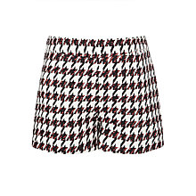 Buy Somerset by Alice Temperley Girls' Houndstooth Shorts, Black/White Online at johnlewis.com