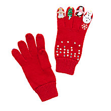 Buy John Lewis Children's Christmas Novelty Gloves Online at johnlewis.com