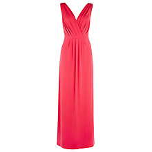 Buy Alexon Cherry Knot Maxi Dress, Cherry Online at johnlewis.com