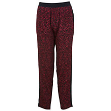 Buy Miss Selfridge Animal Print Trousers, Assorted Online at johnlewis.com