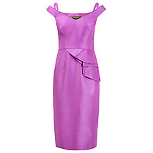 Buy Alexon Waterfall Dress, Violet Online at johnlewis.com