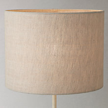 Buy John Lewis Croft Collection Linen Herringbone Cylinder Lampshade Online at johnlewis.com