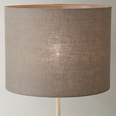 John Lewis Croft Collection Herringbone Lampshade, Brown