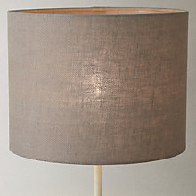 Buy John Lewis Croft Collection Herringbone Lampshade, Brown Online at johnlewis.com