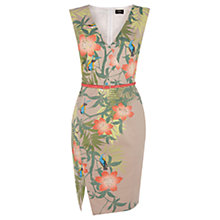 Buy Oasis Bali Placement Dress, Multi Online at johnlewis.com