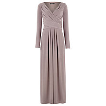 Buy Alexon Jersey Maxi Dress, Chocolate Online at johnlewis.com