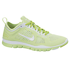 Buy Nike Women's Free TR Fit 4 Breathe Cross Trainer, Lime Online at johnlewis.com