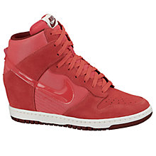 Buy Nike Dunk Sky Hi Wedge Trainers Online at johnlewis.com