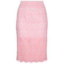 Buy Damsel in a dress Angel Fall Skirt, Pink Online at johnlewis.com