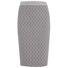 Buy Planet Jacquard Print Skirt, Multi Dark Online at johnlewis.com