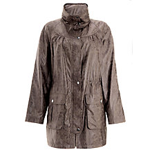 Buy Four Seasons Embossed Parka Jacket, Mink Online at johnlewis.com