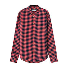 Buy Jigsaw Linen Check Shirt Online at johnlewis.com