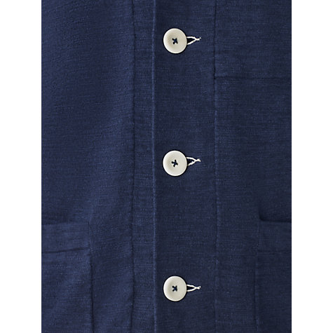Buy Jigsaw Cotton & Linen Knitted Workwear Jacket Online at johnlewis.com