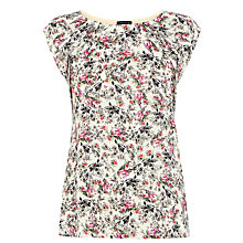 Buy Warehouse Bird Print T-Shirt, Multi Online at johnlewis.com