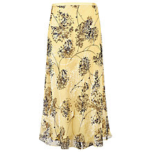 Buy Jacques Vert Spring Floral Skirt, Primrose Online at johnlewis.com