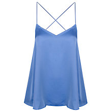 Buy True Decadence Cami Vest, Sky Blue Border Print Online at johnlewis.com