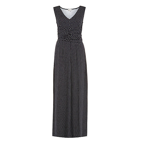 Buy Hobbs Ariana Maxi Dress, Navy Online at johnlewis.com