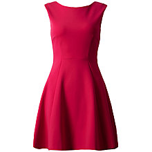 Buy Almari A-Line Ponti Dress, Pink Online at johnlewis.com