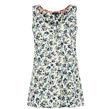 Buy Warehouse Ditsy Print Vest, Multi Online at johnlewis.com