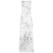 Buy Hobbs Invitation Freesia Silk Maxi Dress, Multi Online at johnlewis.com