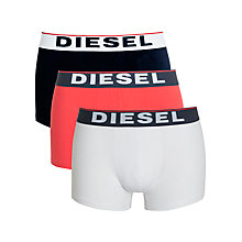 Buy Diesel Jadv Shawn Boxer Trunks, Pack of 3 Online at johnlewis.com