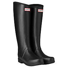 Buy Hunter Sandhurst Wellington Boots, Black Online at johnlewis.com