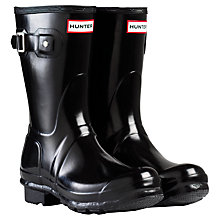 Buy Hunter Women's Original Short Gloss Wellington Boots Online at johnlewis.com