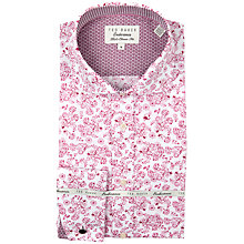 Buy Ted Baker Endurance Pluton Floral Jacquard Shirt Online at johnlewis.com