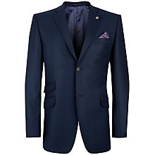 Buy Ted Baker Endurance Foxdale Sterling Birdseye Suit Jacket, Blue Online at johnlewis.com