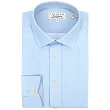 Buy Ted Baker Endurance Parkend Micro Dot Shirt, Blue Online at johnlewis.com