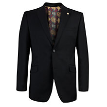 Buy Ted Baker Plain Weave Tailored Suit Jacket, Black Online at johnlewis.com