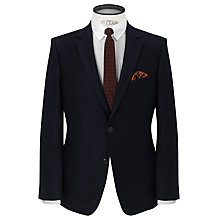 Buy JOHN LEWIS & Co. Tailored Lansdowne Flannel Suit Jacket, Midnight Blue Online at johnlewis.com