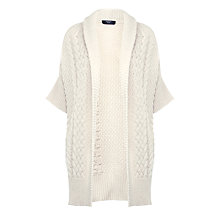 Buy Weekend by MaxMara Ginosa Short Sleeve Cardigan, Milk Online at johnlewis.com