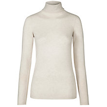 Buy Weekend by MaxMara Calcut Rollneck Jumper, Milk Online at johnlewis.com