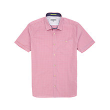 Buy Ted Baker Bremyo Short Sleeve Check Shirt Online at johnlewis.com