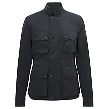 Buy Belstaff Barningham Jacket, Black Online at johnlewis.com