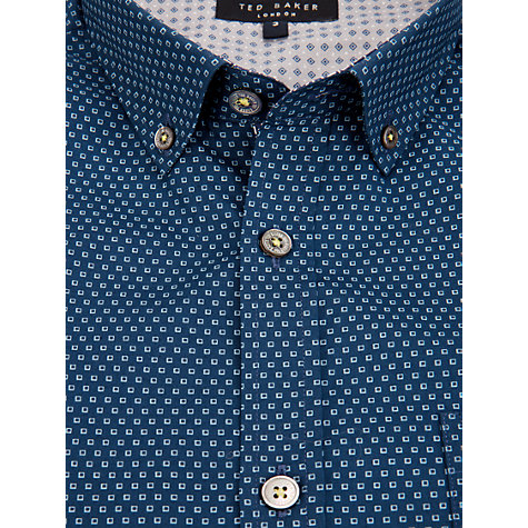 Buy Ted Baker Buzzin Square Print Shirt Online at johnlewis.com