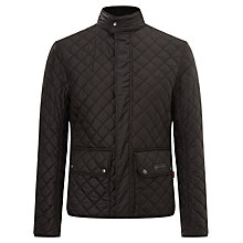 Buy Belstaff Wilson Quilted Jacket, Black Online at johnlewis.com