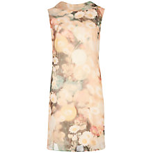 Buy Ted Baker Daisy Print Dress, Cream Online at johnlewis.com