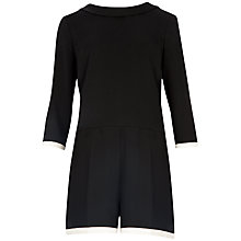 Buy Ted Baker Long Sleeved Mertica Playsuit, Black Online at johnlewis.com