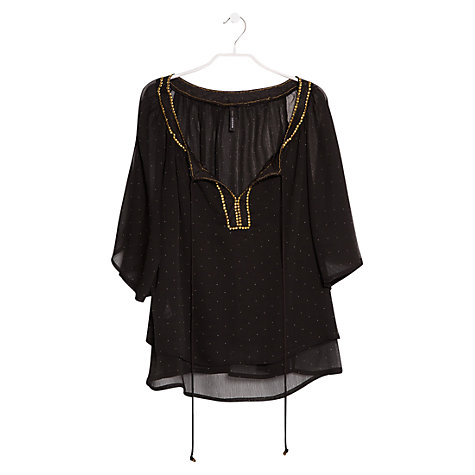 Buy Mango Double Layer Blouse Online at johnlewis.com