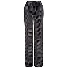 Buy Hobbs Collins Trousers, Ivory/Navy Online at johnlewis.com
