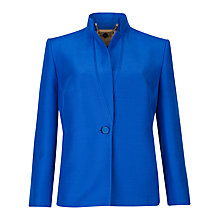 Buy Ted Baker Tailored Box Fit Flattee Jacket, Mid Blue Online at johnlewis.com