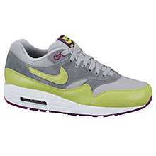 Buy Nike Women's Air Max 1 Essential Leather Trainers Online at johnlewis.com