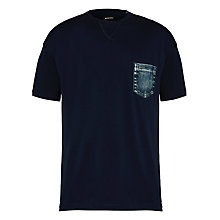 Buy Diesel T-Dara Denim Pocket Short Sleeve T-Shirt Online at johnlewis.com